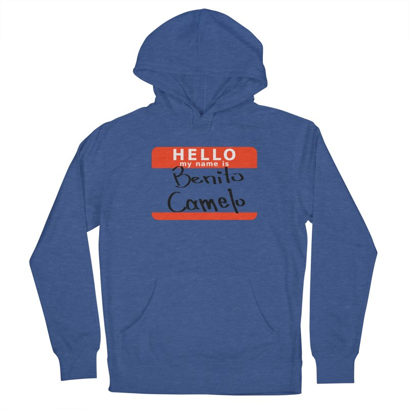 Hello Benito Men's Pullover Hoody by ZuniReds's Artist Shop