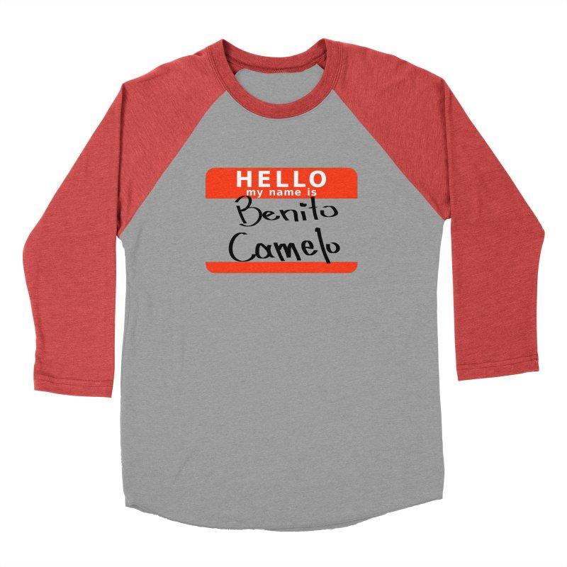 Hello Benito Men's Longsleeve T-Shirt by ZuniReds's Artist Shop