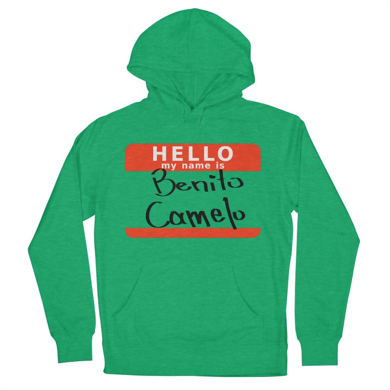 Hello Benito Women's French Terry Pullover Hoody by ZuniReds's Artist Shop