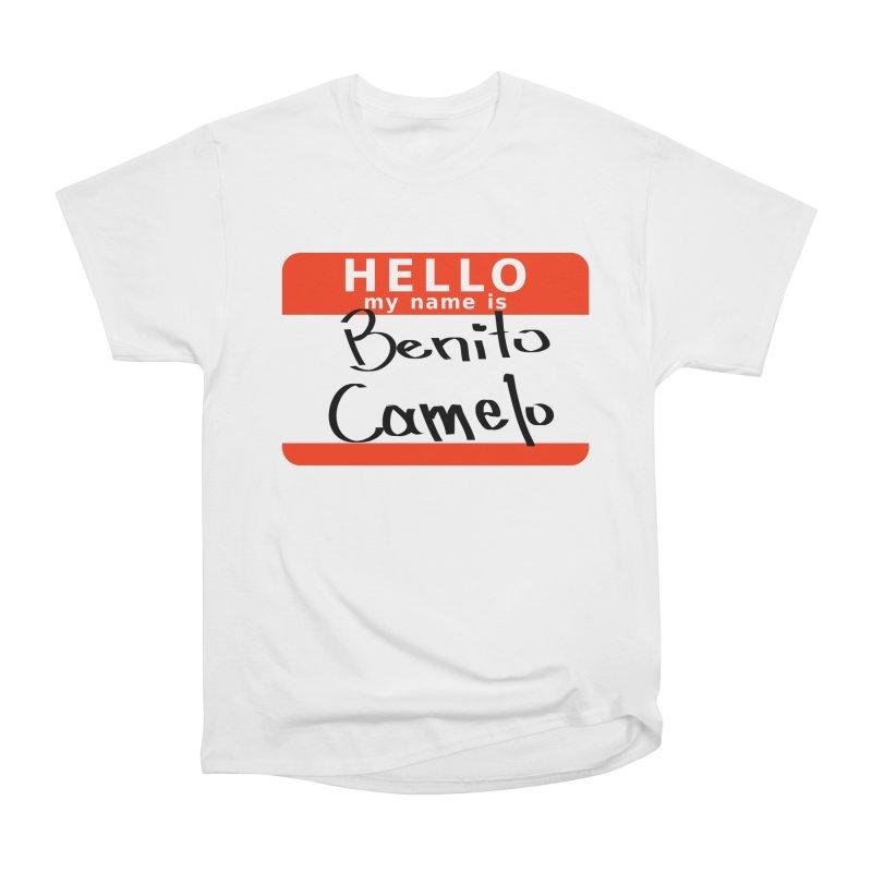 Hello Benito Men's Heavyweight T-Shirt by ZuniReds's Artist Shop