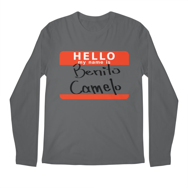 Hello Benito Men's Longsleeve T-Shirt by ZuniReds's Artist Shop