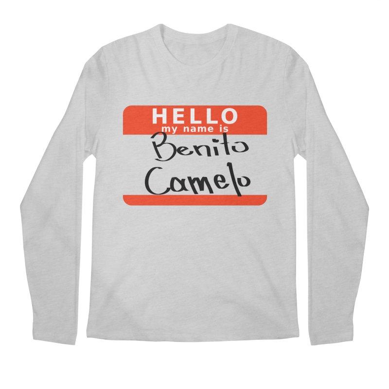 Hello Benito Men's Regular Longsleeve T-Shirt by ZuniReds's Artist Shop
