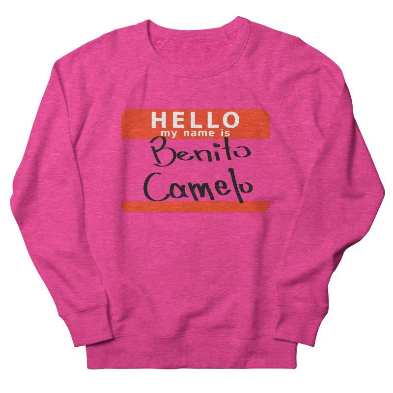 Hello Benito Men's Sweatshirt by ZuniReds's Artist Shop