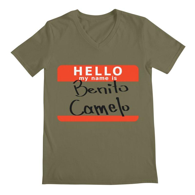 Hello Benito Men's V-Neck by ZuniReds's Artist Shop