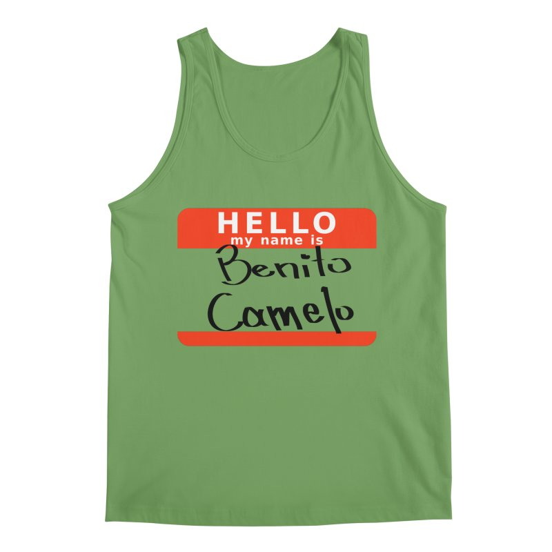 Hello Benito Men's Tank by ZuniReds's Artist Shop