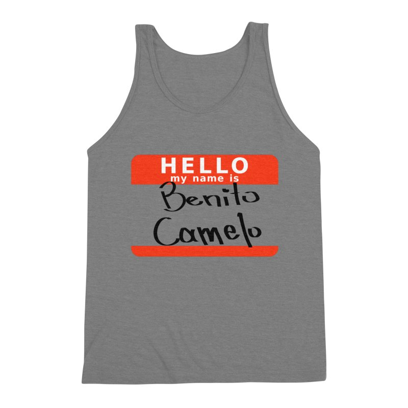 Hello Benito Men's Tank by ZuniReds's Artist Shop