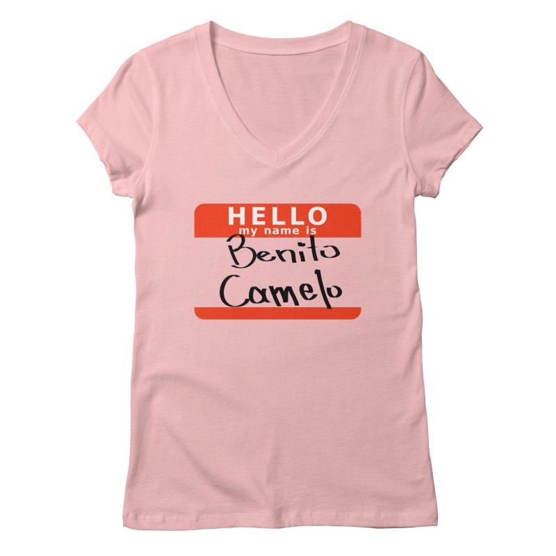 Hello Benito Women's Regular V-Neck by ZuniReds's Artist Shop