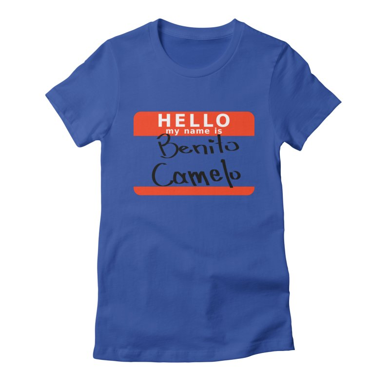Hello Benito Women's T-Shirt by ZuniReds's Artist Shop