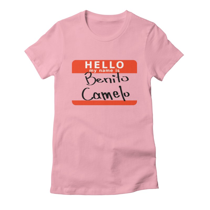 Hello Benito Women's T-Shirt by ZuniReds's Artist Shop
