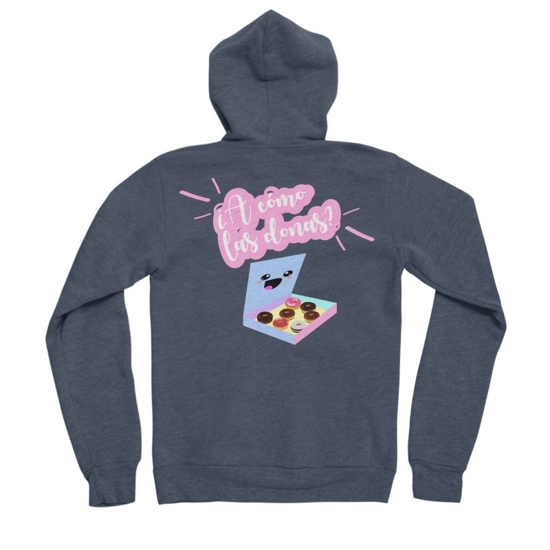 Donas Women's Zip-Up Hoody by ZuniReds's Artist Shop