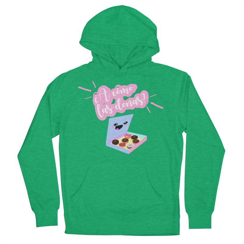 Donas Women's French Terry Pullover Hoody by ZuniReds's Artist Shop