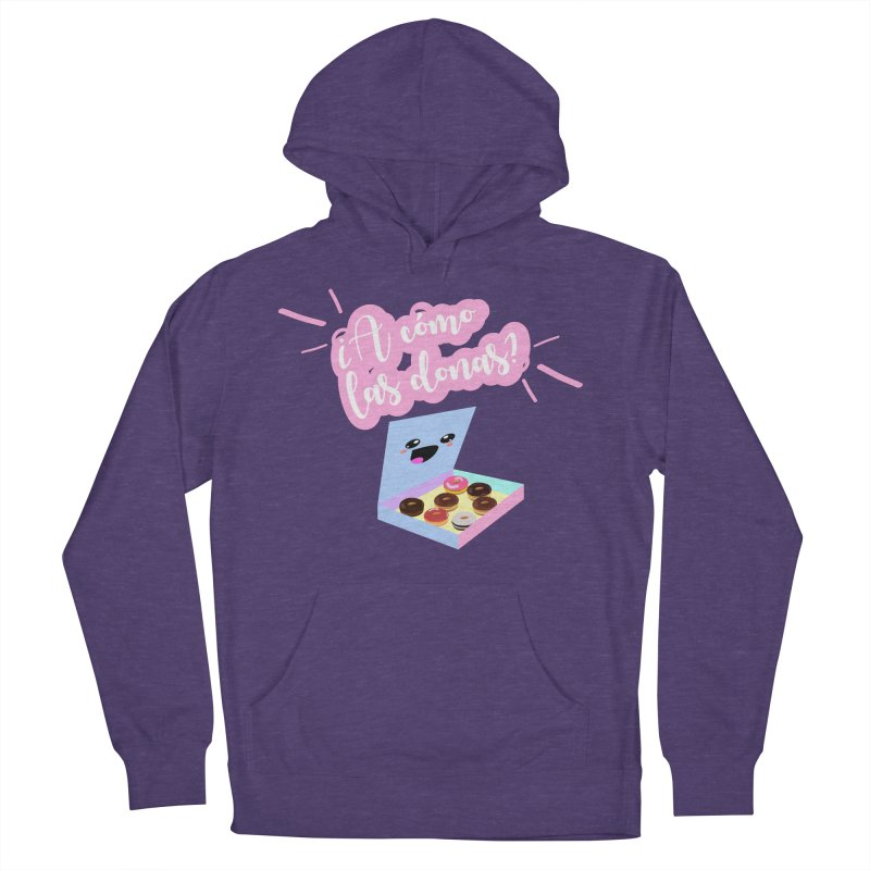 Donas Men's French Terry Pullover Hoody by ZuniReds's Artist Shop