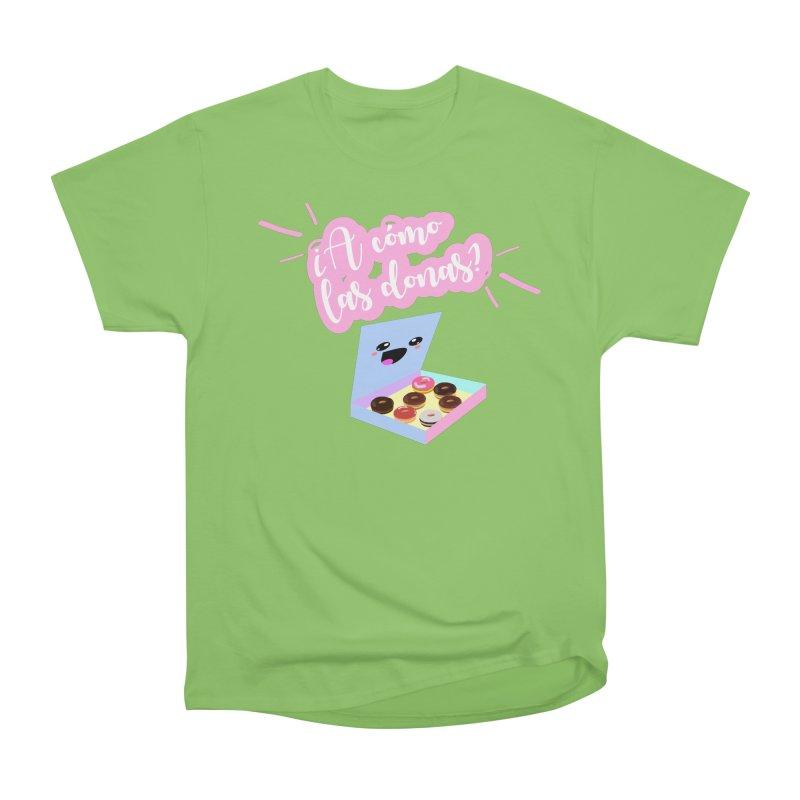 Donas Women's Heavyweight Unisex T-Shirt by ZuniReds's Artist Shop
