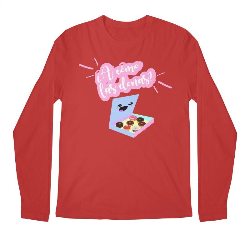 Donas Men's Longsleeve T-Shirt by ZuniReds's Artist Shop