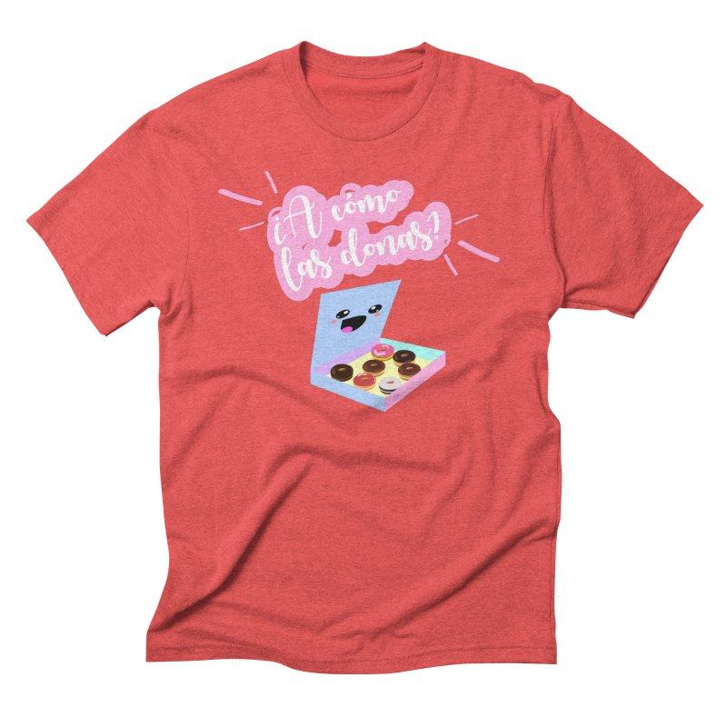 Donas Men's Triblend T-Shirt by ZuniReds's Artist Shop