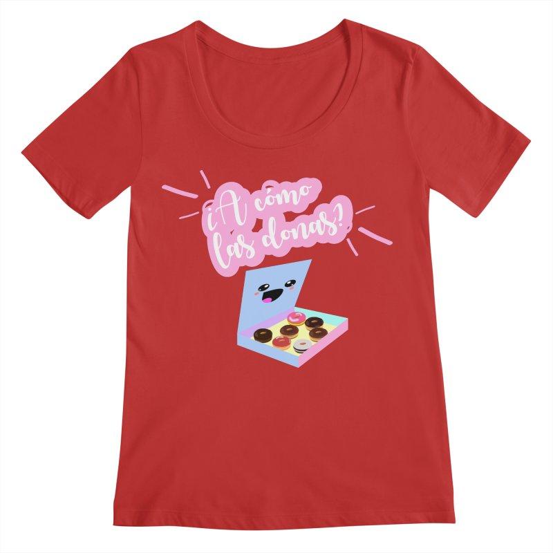 Donas Women's Regular Scoop Neck by ZuniReds's Artist Shop