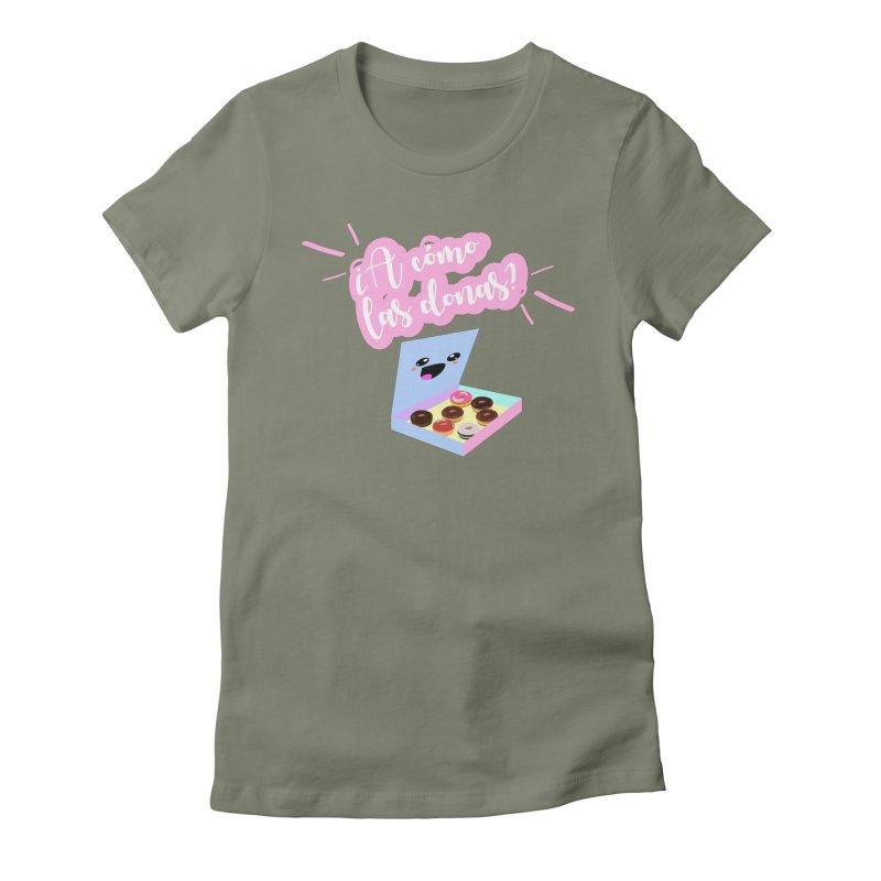 Donas Women's T-Shirt by ZuniReds's Artist Shop