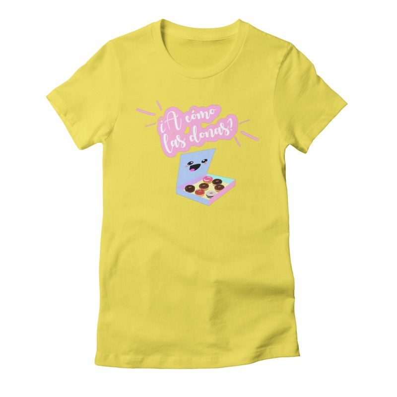 Donas Women's Fitted T-Shirt by ZuniReds's Artist Shop