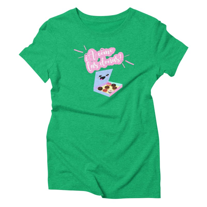 Donas Women's T-Shirt by ZuniReds's Artist Shop