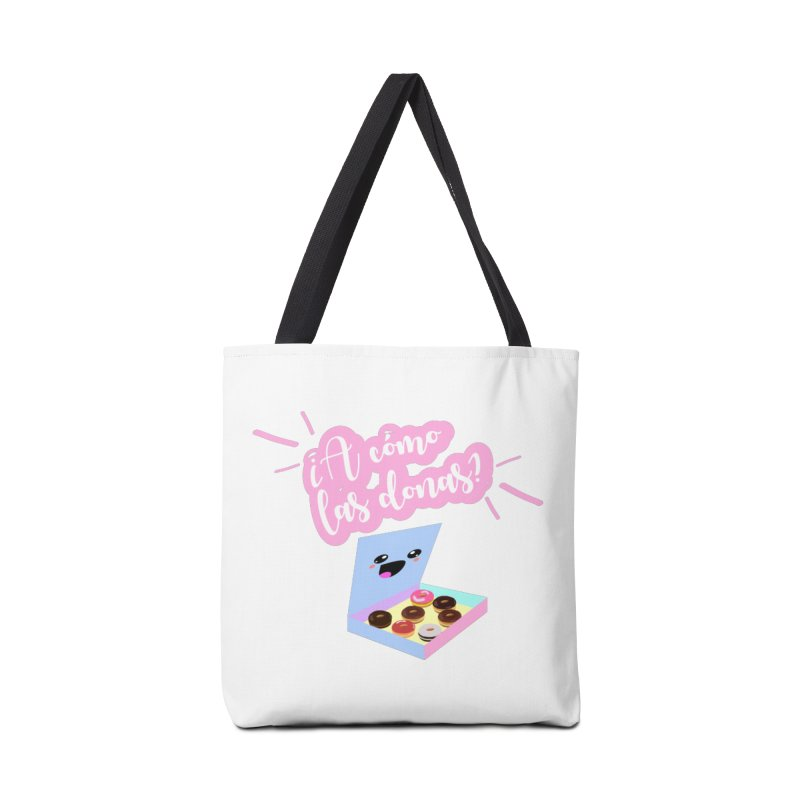 Donas Accessories Tote Bag Bag by ZuniReds's Artist Shop