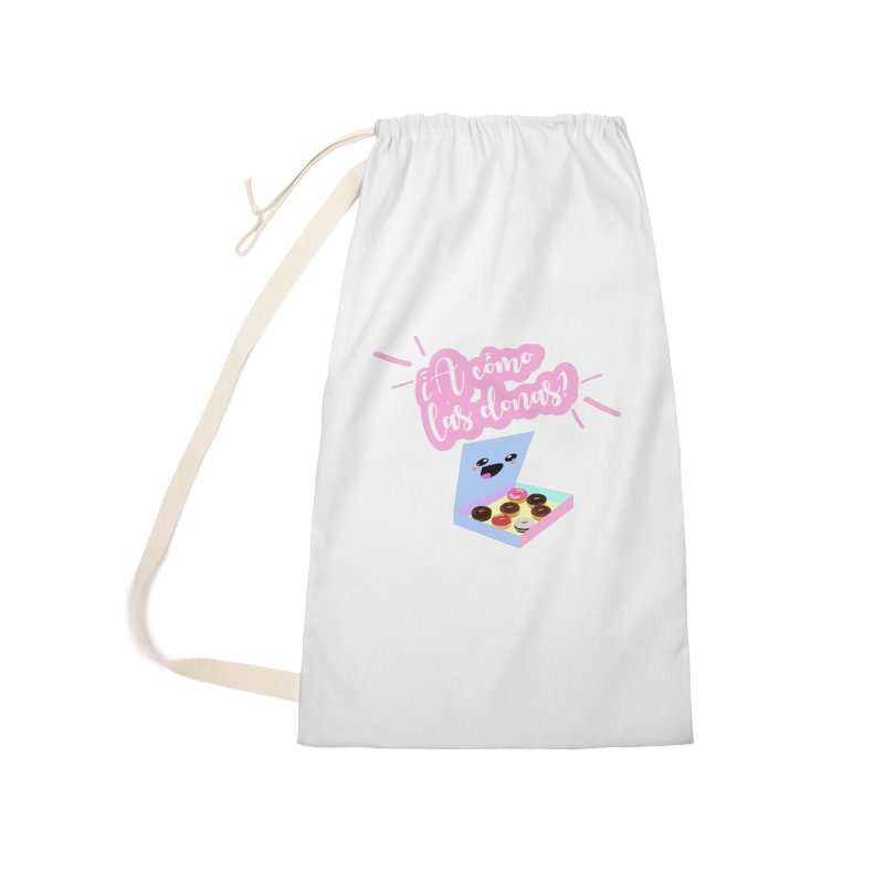 Donas Accessories Laundry Bag Bag by ZuniReds's Artist Shop