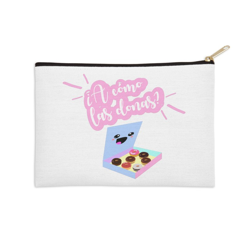 Donas Accessories Zip Pouch by ZuniReds's Artist Shop