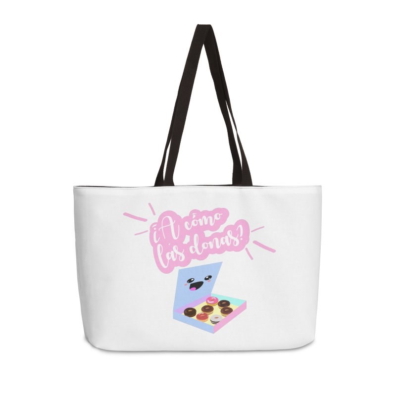 Donas Accessories Weekender Bag Bag by ZuniReds's Artist Shop