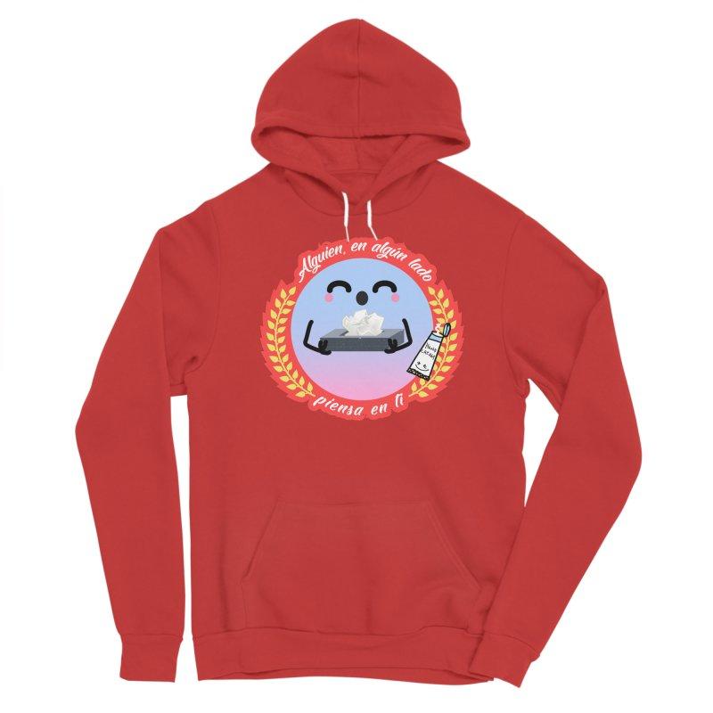 Alguien piensa en ti Men's Pullover Hoody by ZuniReds's Artist Shop