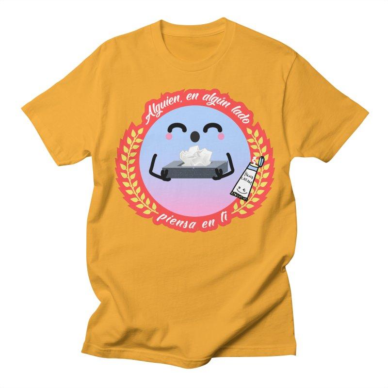 Alguien piensa en ti Men's T-Shirt by ZuniReds's Artist Shop