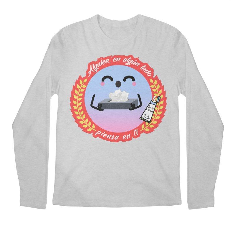 Alguien piensa en ti Men's Regular Longsleeve T-Shirt by ZuniReds's Artist Shop