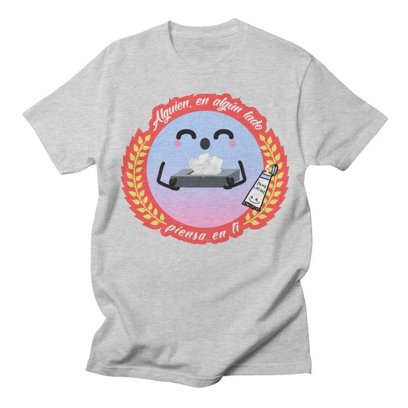 Alguien piensa en ti Men's Regular T-Shirt by ZuniReds's Artist Shop