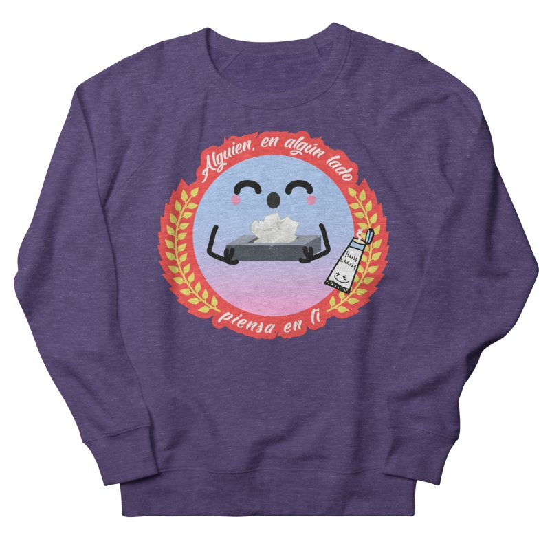 Alguien piensa en ti Men's French Terry Sweatshirt by ZuniReds's Artist Shop