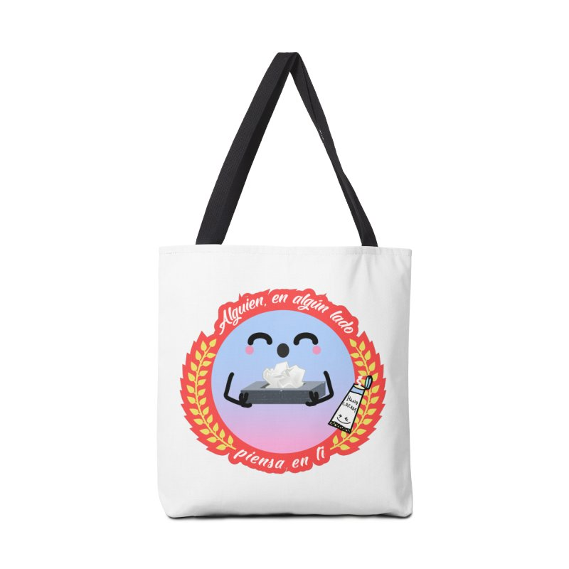 Alguien piensa en ti Accessories Tote Bag Bag by ZuniReds's Artist Shop