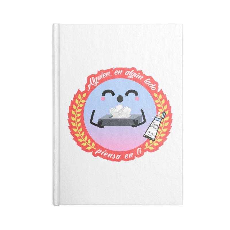 Alguien piensa en ti Accessories Notebook by ZuniReds's Artist Shop