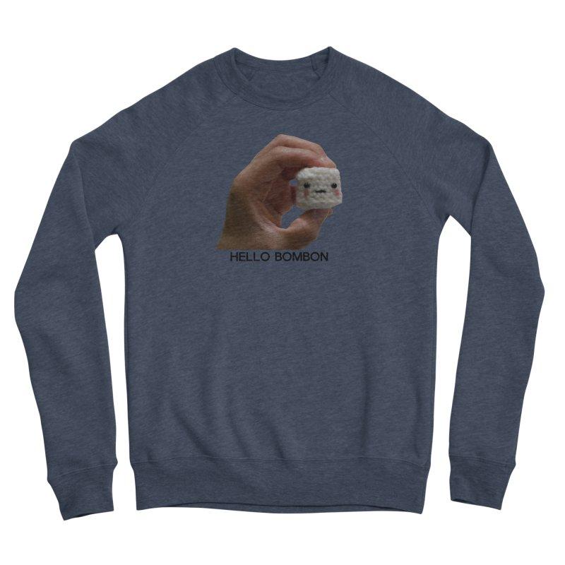 HELLO BOMBON Men's Sponge Fleece Sweatshirt by ZuniReds's Artist Shop
