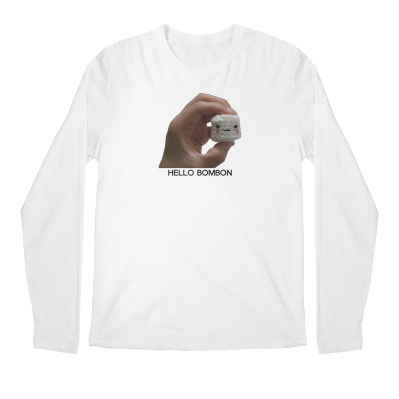 HELLO BOMBON Men's Regular Longsleeve T-Shirt by ZuniReds's Artist Shop