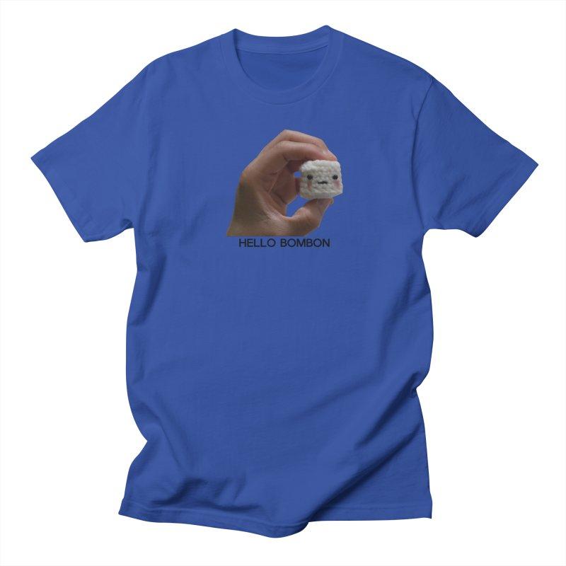 HELLO BOMBON Men's Regular T-Shirt by ZuniReds's Artist Shop
