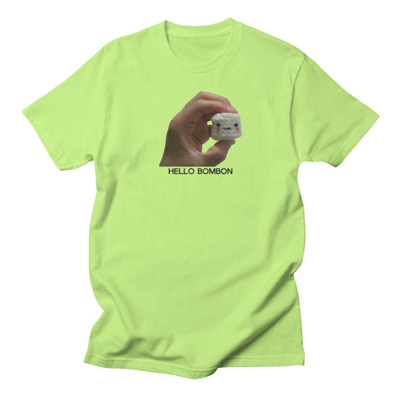 HELLO BOMBON Women's Regular Unisex T-Shirt by ZuniReds's Artist Shop