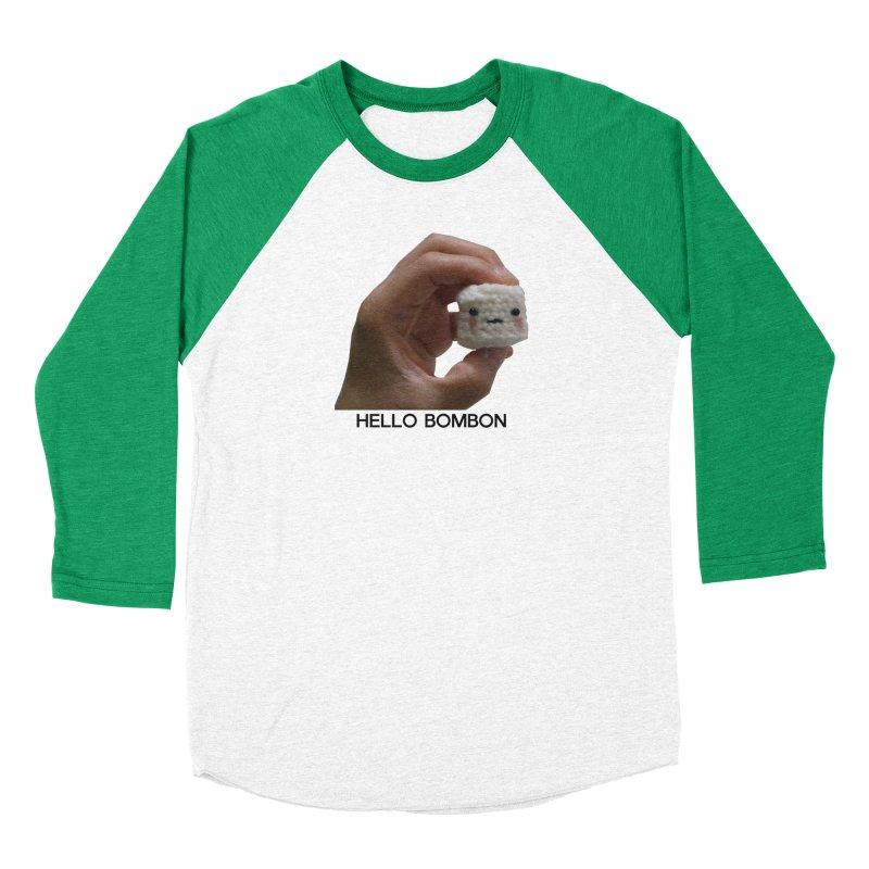 HELLO BOMBON Women's Baseball Triblend Longsleeve T-Shirt by ZuniReds's Artist Shop