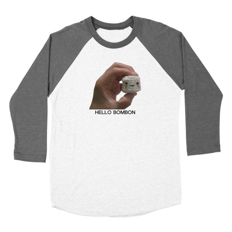 HELLO BOMBON Men's Baseball Triblend Longsleeve T-Shirt by ZuniReds's Artist Shop