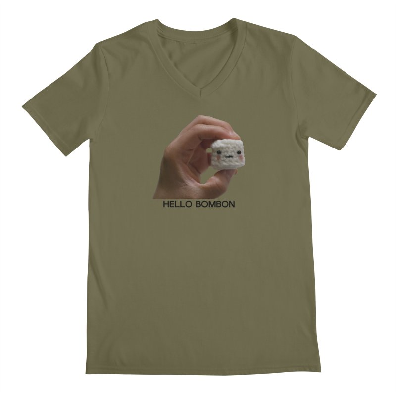 HELLO BOMBON Men's Regular V-Neck by ZuniReds's Artist Shop