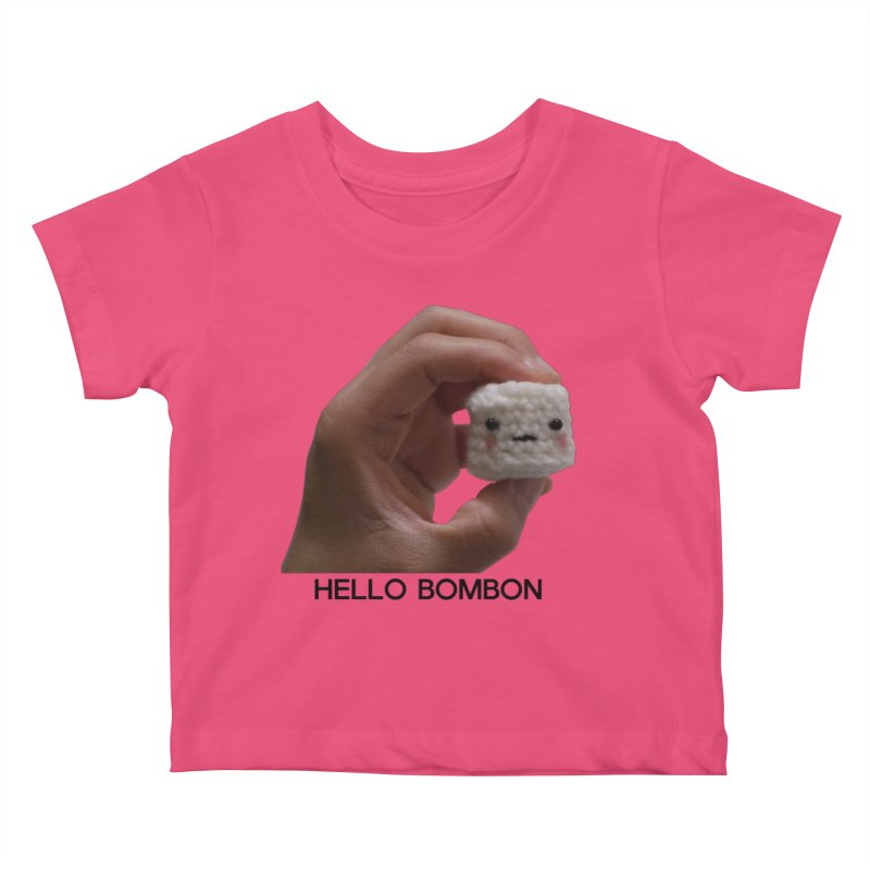 HELLO BOMBON Kids Baby T-Shirt by ZuniReds's Artist Shop