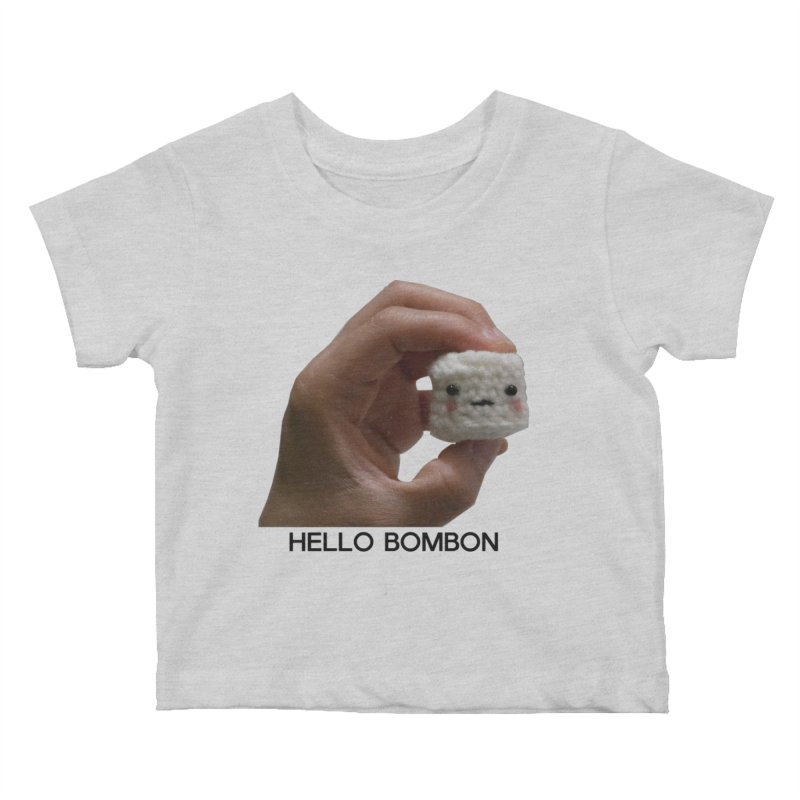 HELLO BOMBON Kids Baby T-Shirt by ZuniReds's Artist Shop