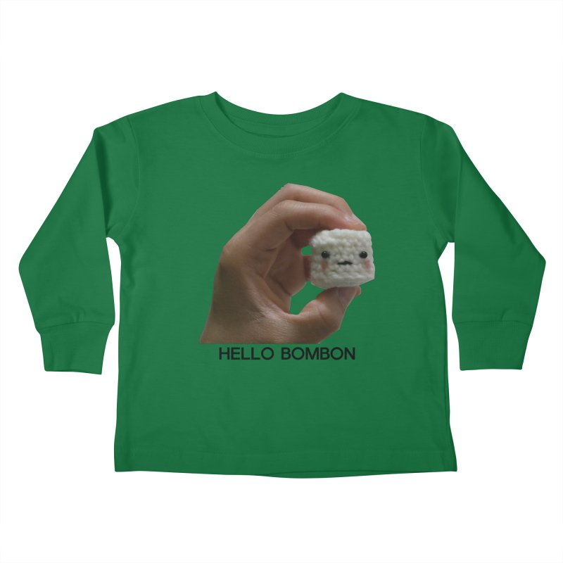 HELLO BOMBON Kids Toddler Longsleeve T-Shirt by ZuniReds's Artist Shop