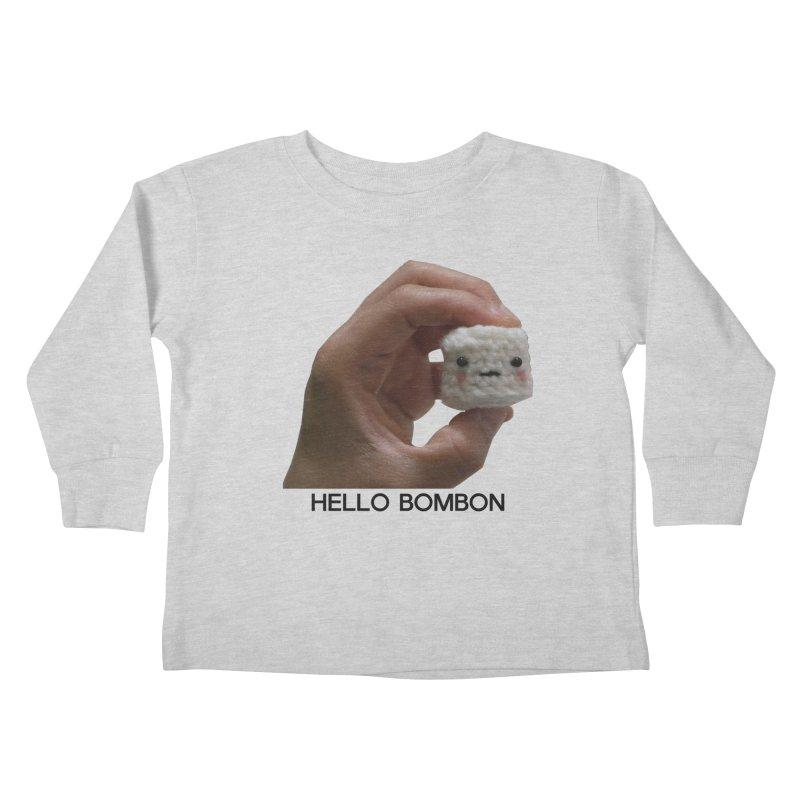 HELLO BOMBON Kids Toddler Longsleeve T-Shirt by ZuniReds's Artist Shop