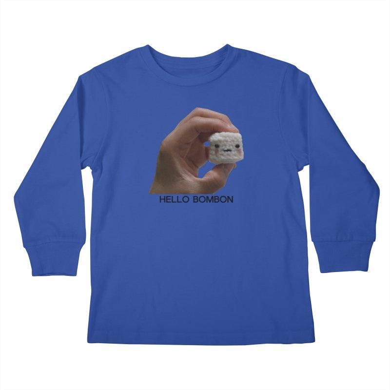 HELLO BOMBON Kids Longsleeve T-Shirt by ZuniReds's Artist Shop