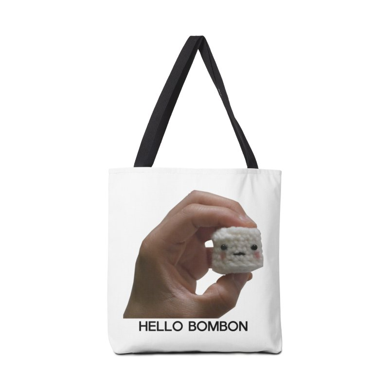 HELLO BOMBON Accessories Tote Bag Bag by ZuniReds's Artist Shop