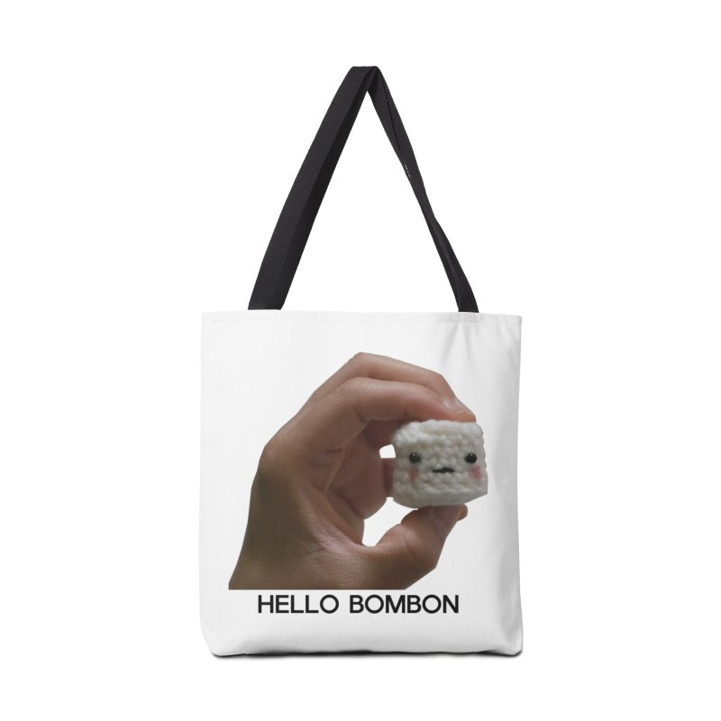HELLO BOMBON Accessories Bag by ZuniReds's Artist Shop