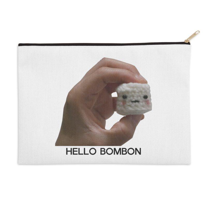 HELLO BOMBON Accessories Zip Pouch by ZuniReds's Artist Shop