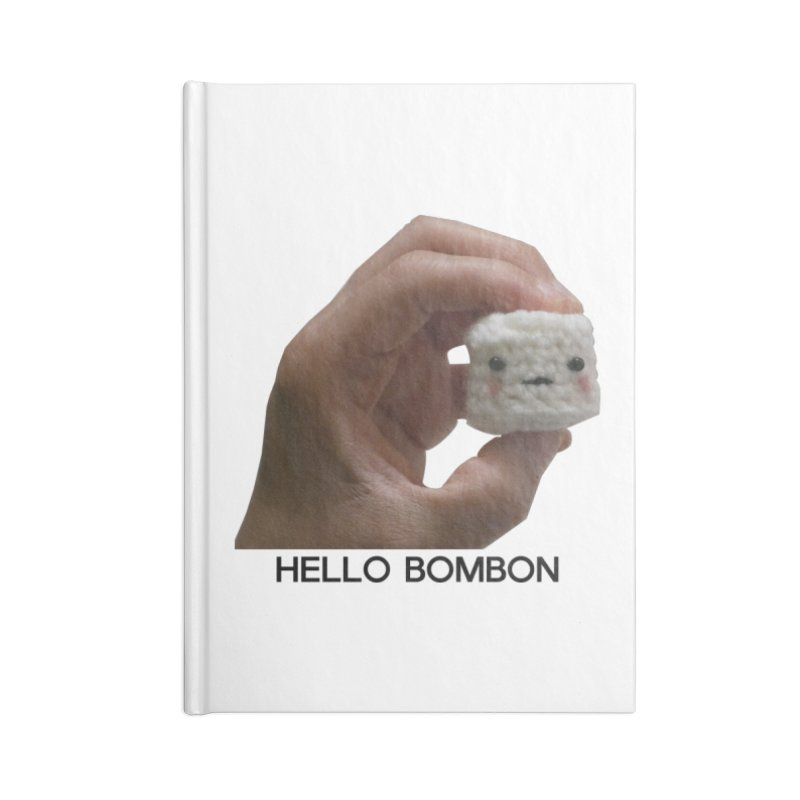 HELLO BOMBON Accessories Blank Journal Notebook by ZuniReds's Artist Shop
